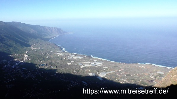 Herrlicher Blick auf die Küste