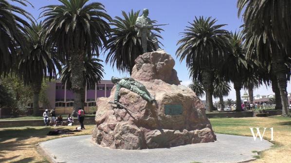 Marine Denkmal in Swakopmund
