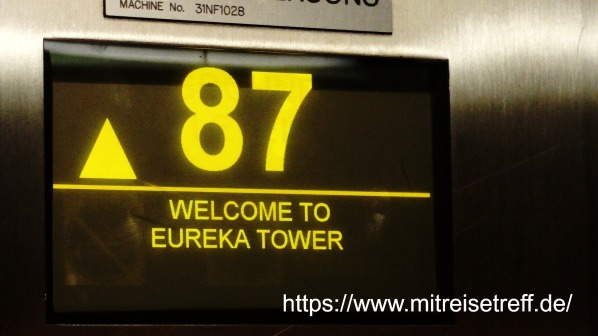 im Lift - 87 - Welcome to Eureka Tower