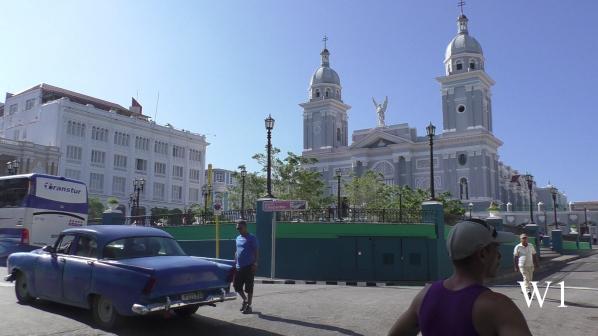 Parque Céspedes mit Catedral de Nuestra