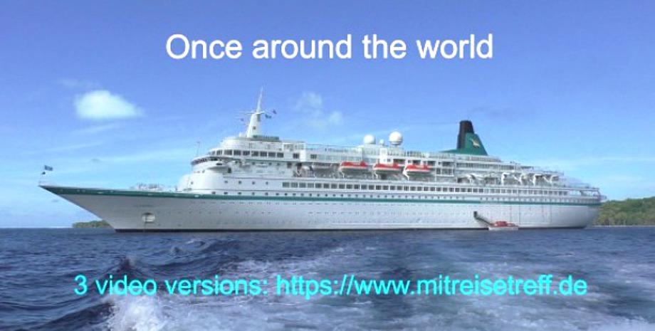 0nce around the world, MS Alabtros auf Reede